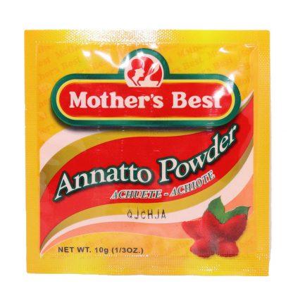 Mother's Best Annatto (Achuete) Powder Mix 10 grams