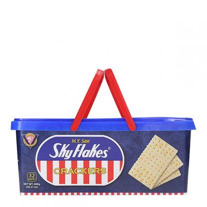 M.Y. San Skyflakes Crackers Tub 800 grams