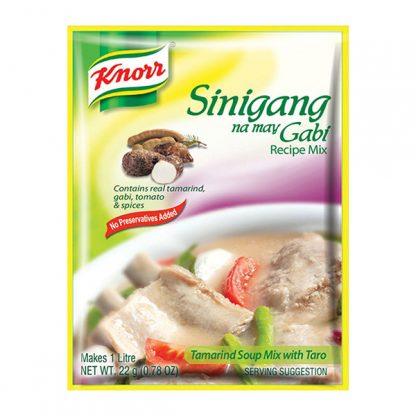 Knorr Sinigang with gabi 22 grams