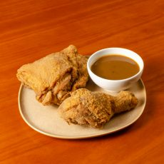 Crispy Fried Chicken Thigh and Drumstick