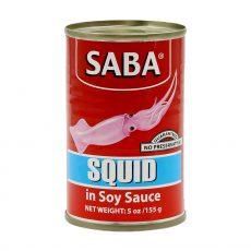 Saba Squid in Soy Sauce 155 grams