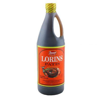 Lorins Patis Fish Sauce (Low Histamine) 1 litre