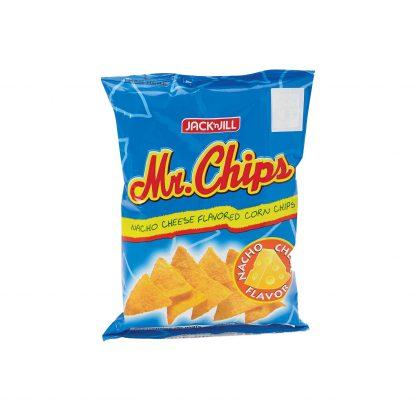 Jack N' Jill Mr. Chips Nacho Cheese 100 grams