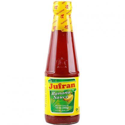 Jufran Banana Sauce Regular 340 grams