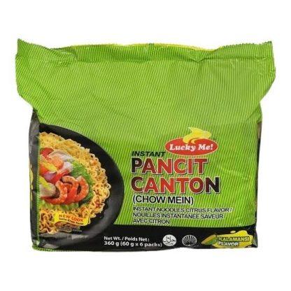 Lucky Me! Instant Pancit Canton Kalamansi Flavour 6 x 60 grams
