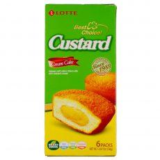 Lotte Custard Cream Cakes 6 x 23 grams